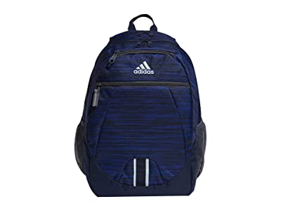 adidas Foundation V Backpack (Looper Collegiate Navy/Collegiate Navy/Onix/Sky Tint) Backpack Bags