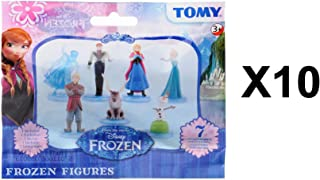 Tomy Disney Frozen Mini Figure Blind Bag Party Favours - Pack of 10