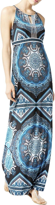 INC Womens Beaded Maxi Dress
