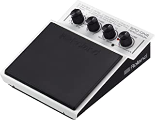 Roland Electronic Drum Pad, Percussion, White, Small Rockem Music (SPD-1P)