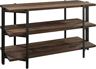 "Sauder North Avenue Console, for TVs up to 42"", Smoked Oak Finish"