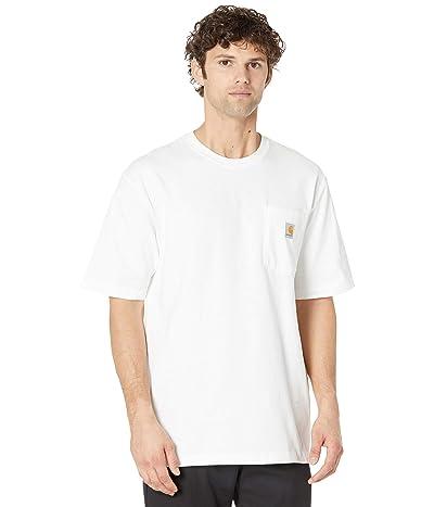 Carhartt Workwear Pocket S/S Tee K87 (White) Men