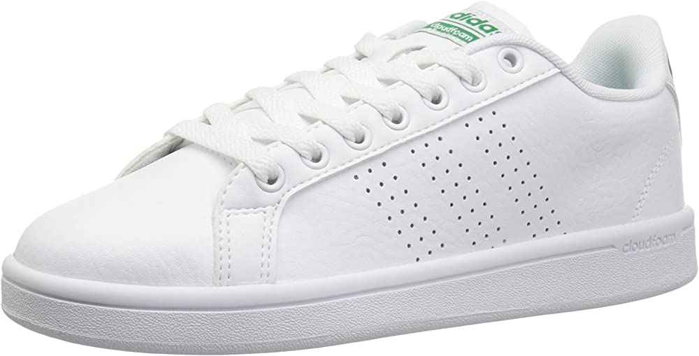 Adidas advantage scarpe sneakers da ginnastica per uomo in vera pelle F36423B