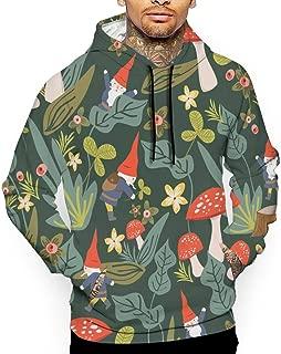 Unisex Unique Woodland Gnomes Hoodies Fashion Pullover Hood Jackets Sweatshirt