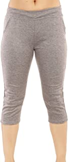 MUKHAKSH (Pack of 1) Women/Girls/Ladies Hot Raju Grey Capri 3/4 for Gym/Work Out/Sports/Casual & Party wear