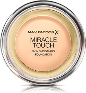 Max Factor Miracle Touch Liquid Illusion Compact Foundation, 080 Bronze, 11.5 g