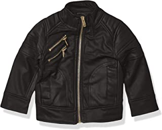 Urban Republic Baby Boys Textured Faux Leather Jacket