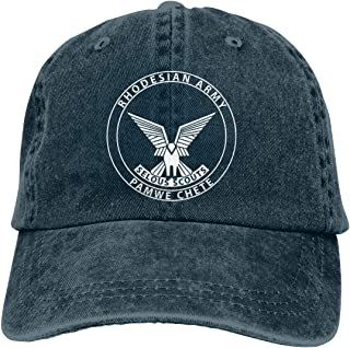 Selous Scouts Adjustable Baseball Caps Denim Hats Cowboy Sport Outdoor