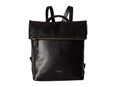 Lipault Paris Rendez-Vous Backpack Small (Black) Backpack Bags