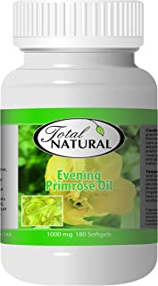 Evening Primrose Oil 1000mg 150 Softgels [12 Bottles] by Total Natural, Improve Metabolism, PMS Support and Fertility, Support Heart Health and Skin Health
