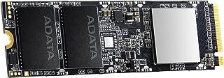 XPG SSD M.2 512GB SX8100 シリーズ Type2280 PCIe3.0x4 NVMe 3D NAND DRAMバッファ 5年保証 ASX8100NP-512GT-C