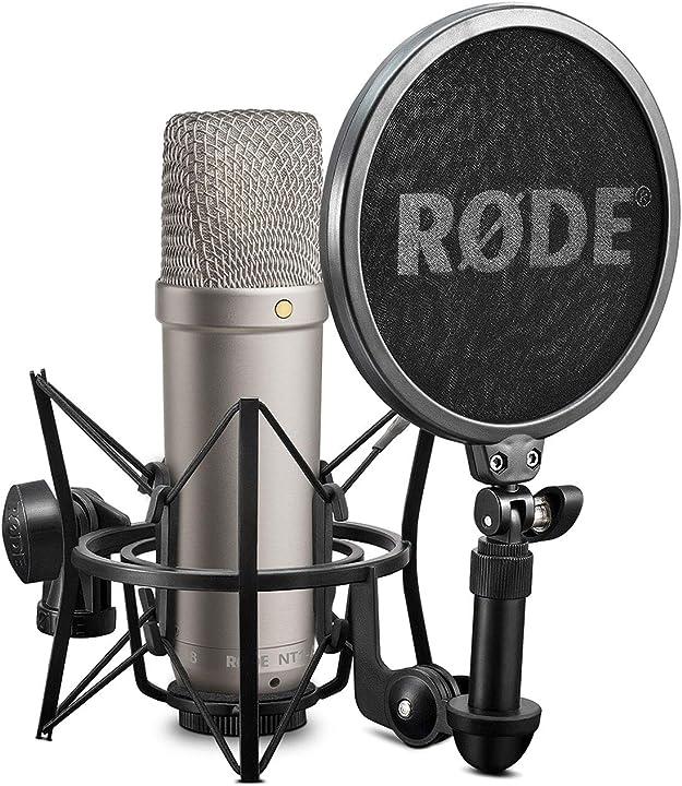 Microfono a diaframma largo per studi di registrazione rode microphones - nt1a NT-1A