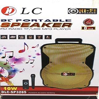 "BT Portable speaker FM Radio TF, USB, MP3 Player, 8"", DLC-SP3285"