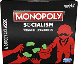 Monopoly Socialism Board Game Parody Adult Party Game