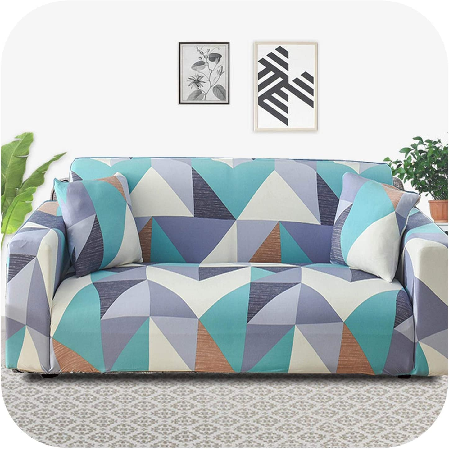 FAT Ranking TOP5 SHEEP Pmxxy Geometric Sofa Cover Spandex Living Ela for Bombing new work Room