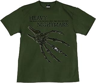 [GENJU] Tシャツ スカル ドクロ 指輪 ロック メタル 背面無地版 メンズ