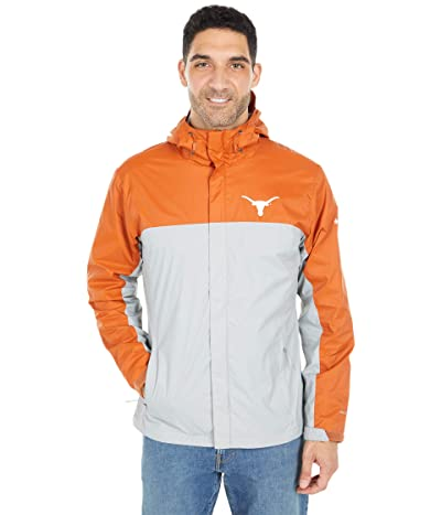 Columbia College Texas Longhorns Glennaker Stormtm Jacket (Cedar/Columbia Grey) Men