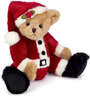 Bearington Papa Santa Beary Plush Christmas Teddy Bear, 14 inches