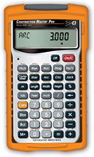 Calculated Industries 4065 Construction Master Pro Advanced Construction Math..