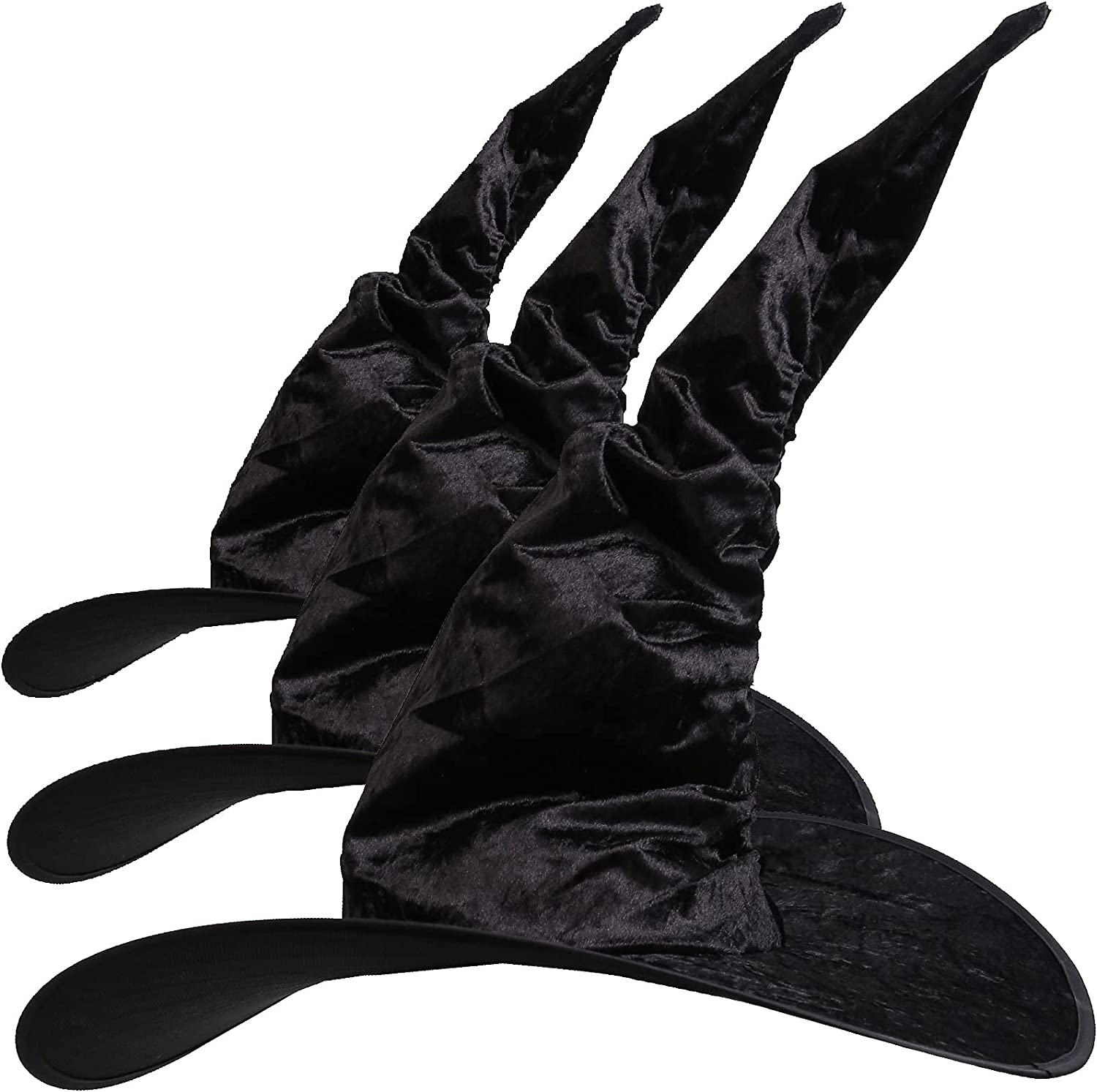 Halloween Opening large release sale Witch Hat Large Women Regular store Ruched Black Cos