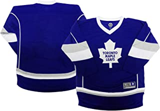 Toronto Maple Leafs Blank Blue Men's Home 1 Stripe Team Apparel Jersey