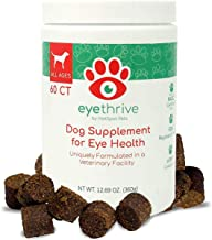 Hot Spot NY Dog Vitamins for Eyes - Vision Support with Lutein, Omega-3 Fatty Acids, Fish Oil & Vitamin C - Eye Supplement Support for Senior Dogs