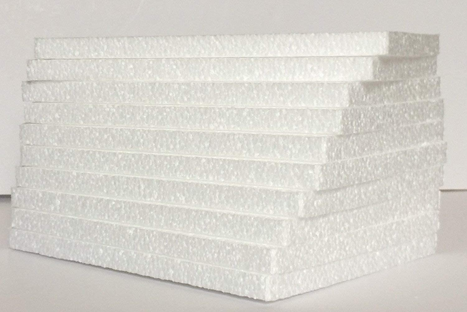 Styrofoam Sheets 6 Sale item X 8 1 2 Lot 80 Inches - of White Soldering