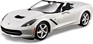 Maisto 1:24 Scale Assembly Line 2014 Corvette Stingray Convertible Diecast Model Kit (Colors May Vary)