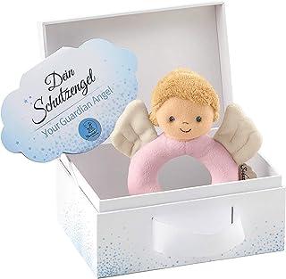 Sterntaler Grifling skyddsängel för flickor, ålder: 0–36 månader, storlek: 14 cm, färg: Rosa