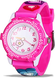 Kids Waterproof Watch, Cute 3D Cartoon Children's Watches...