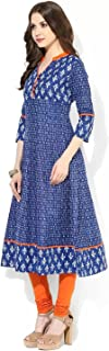AnjuShree Choice Women Stitched Cotton Anarkali Kurti Kurtis for women