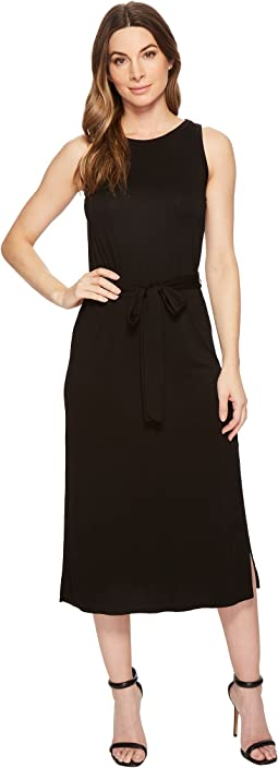 Three Dots - Refined Jersey Easy Midi Dress