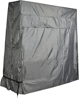 CKCLUU Table Tennis Table Cover Waterproof Heavy-Duty Outdoor Ping Pong Table Cover 62