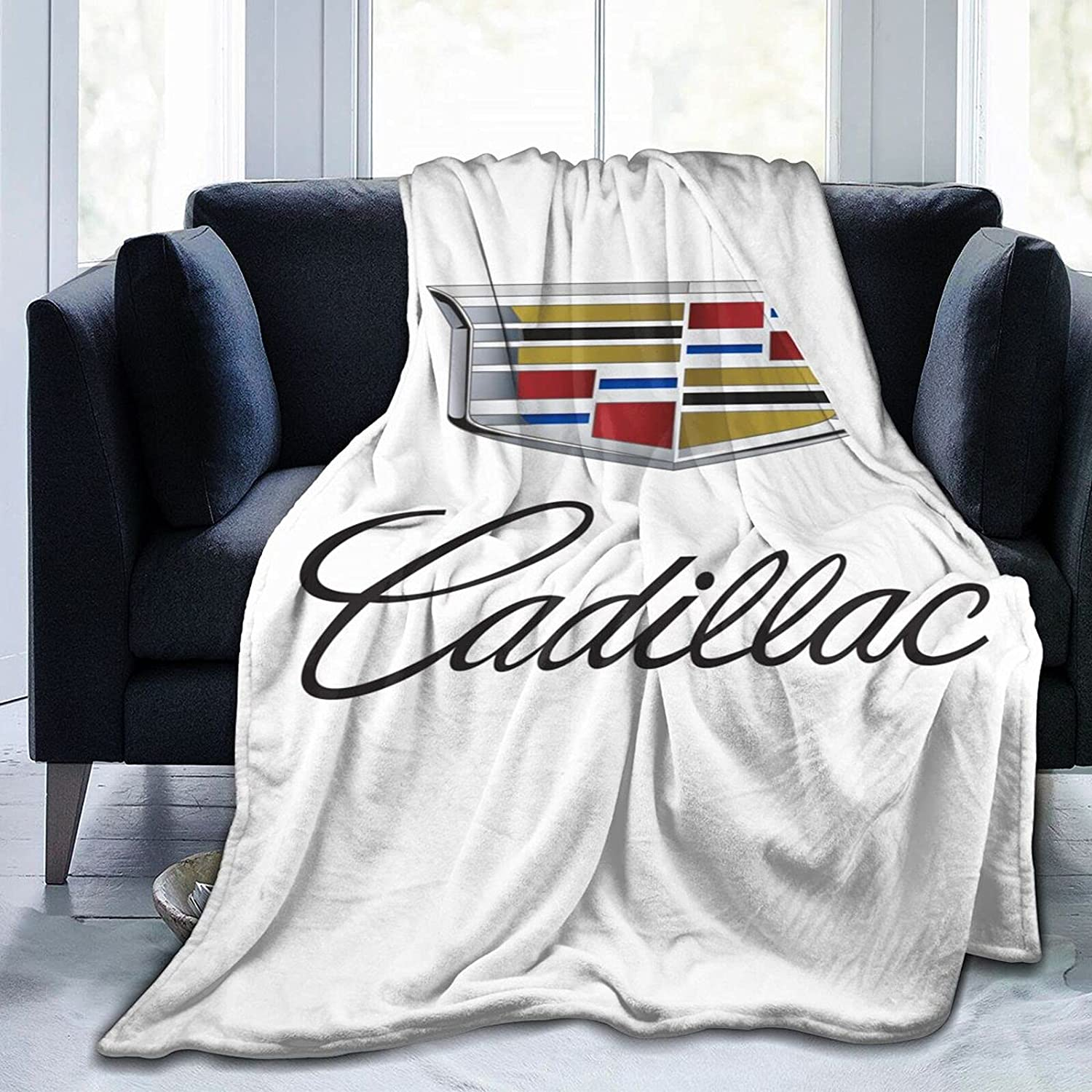 Cadillac Soft and Warm Throw Blanket supreme Max 81% OFF Couch Room Plush Living Bed