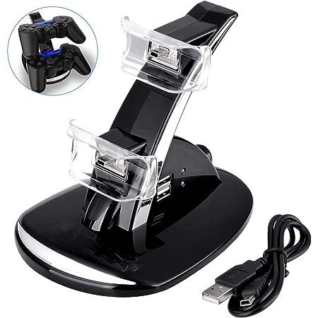 Amazon Com Ps3 Controlador Cargador Dual Usb Ps3 Controlador Estación De Carga Para Sony Playstation 3 Ps3 Slim Ps3 Base De Carga Para Controlador Ps3 Compatible Con Ps3 Electronics