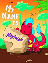 My Name is Kayleigh: 2 Workbooks in 1! Personalized Primary Name and Letter Tracing Book for Kids Learning How to Write Their First Name and the ... for Children in Pre-k and Kindergarten