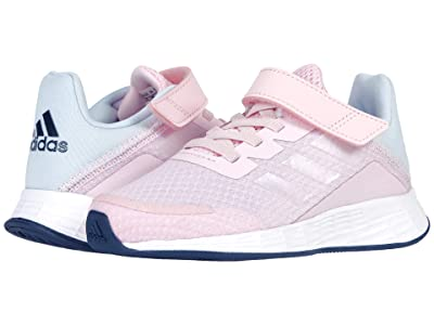 adidas Kids Duramo SL (Little Kid) (Pink/Iridescent/Halo Blue) Kid