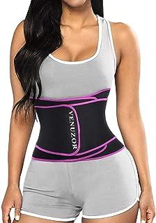 VENUZOR Waist Trainer Belt for Women - Waist Trimmer Slimming Belt - Sport Girdle Weight Loss