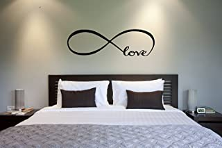 The Vinyl Design Company Love Infinity symbol Vinyl Wall Decal - 39.5
