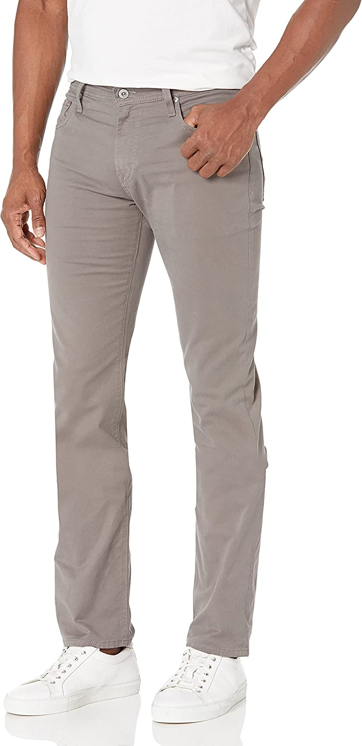 AG Adriano Goldschmied Men's Twil The Slim-Straight-Leg Free shipping anywhere in the nation Raleigh Mall Matchbox