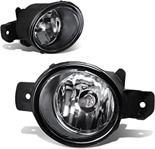 For Nissan Sentra/Rogue/M35 Pair of Bumper Driving Fog Lights (Clear Lens)
