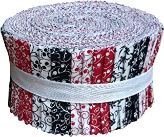 black and white batik fabric