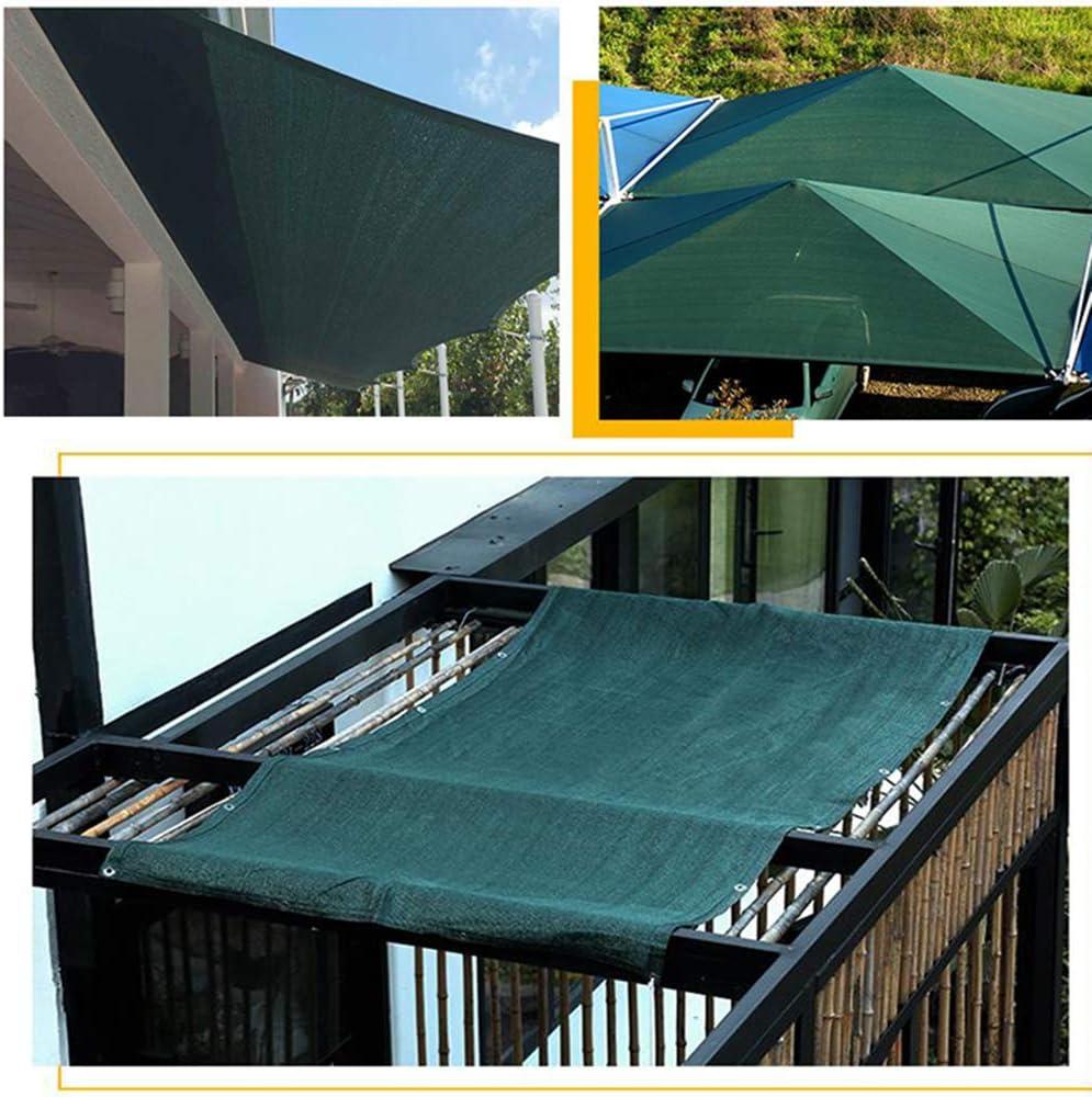 Today's only LKLXJ Roof Sunshade Fabric Rectangle P Dark price Shade Green,75%