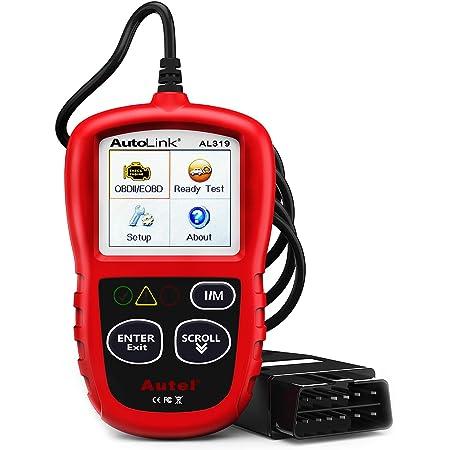 Autel AutoLink AL319 OBD2 Scanner Automotive Engine Fault Code Reader CAN Scan Tool
