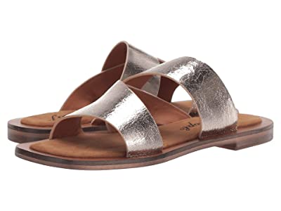 Free People Blake Slide Sandal (Silver) Women