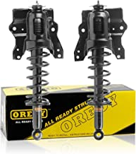 OREDY Rear Pair Complete Struts Assembly Shock Struts Coil Spring Assembly Kit 15071 15072 G57090 G57091 Compatible with Optima 2001 2002 2003 2004 2005 2006/Sonata 2000 2001 2002 2003 2004 2005