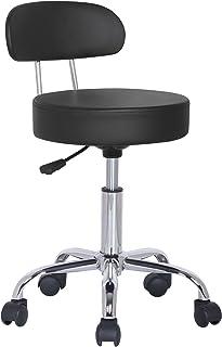 SixBros. Taburete Giratorio Negro - M-95027X/2129