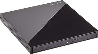 I-O DATA ポータブルブルーレイドライブ 外付型/USB 3.1/Ultra HD Blu-ray再生対応/HDR対応 BRP-UT6UHD/CK