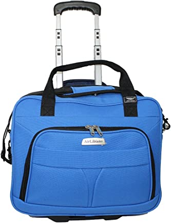 Airlibiano Rolling Personal Item laptop case Airlines Frontier & Spirit Airlines