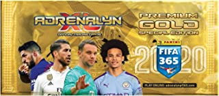 Panini 000917 Adrenalyn XL Trading Cards FIFA 365 2019/2020 Season, Premium Gold Edition, Booster with 10 of which 3 Limited Cards, Multi-Coloured